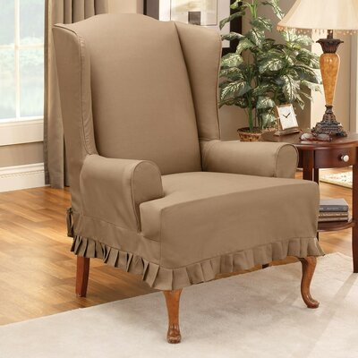 Sure Fit Colette Wing Chair T Cushion Slipcover Amp Reviews