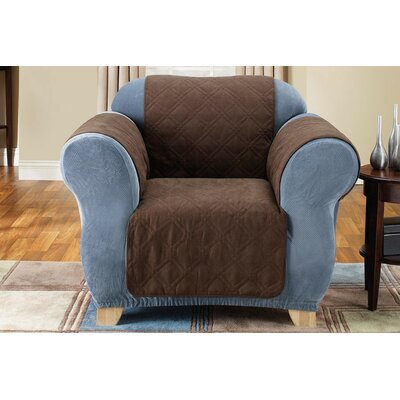 Sure-Fit Soft Suede Furniture Friend Chair Cover