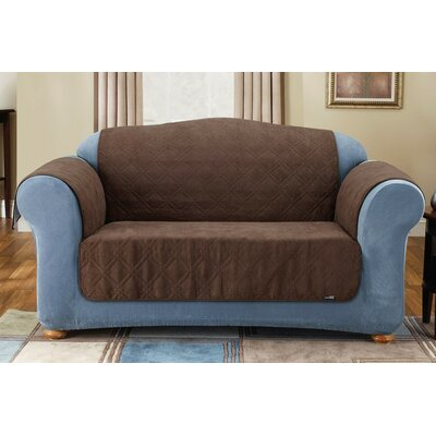 Sure-Fit Soft Suede Friend Pet Sofa Cover