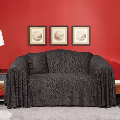 Plush Animal Sofa Throw Slipcover