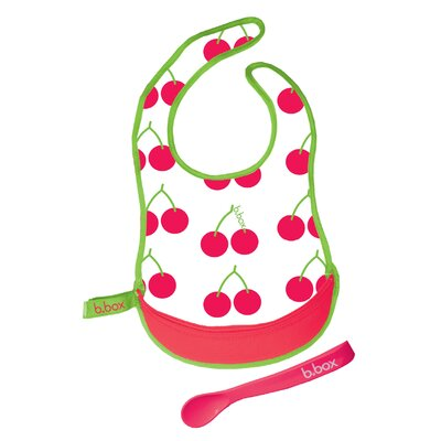 b.box Cherry Delight Travel Bib