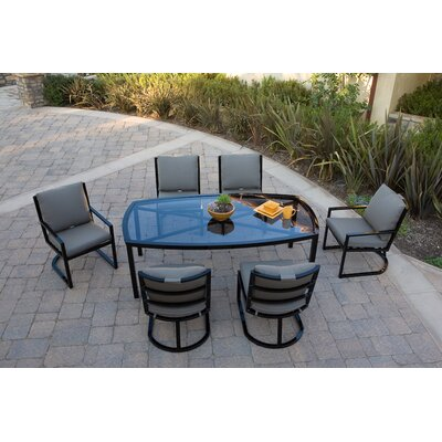 Koverton Eclipse 7 Piece Dining Set