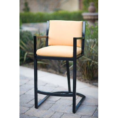 Koverton Eclipse Stationary Barstool with Cushion