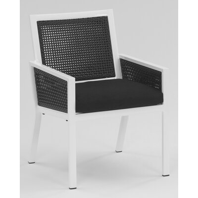 Koverton Parkview Woven Dining Arm Chair with Cushion