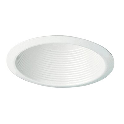 Royal Pacific Recessed Housing Trims in White with Cone Baffle Ceiling