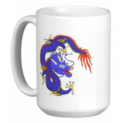 Oriental Design Gallery Chinese Dragon 15 oz. Coffee / Tea Mug