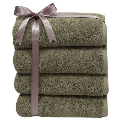 Soft Twist 100% Turkish Cotton Hand Towel (Set of 4)