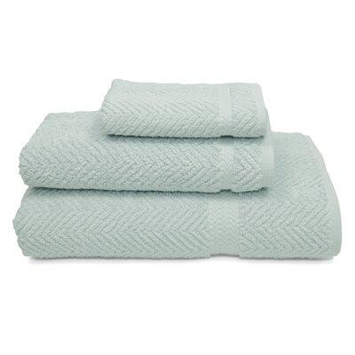 Linum Home Textiles Herringbone Weave 100% Turkish Cotton 3 Piece Towel Set