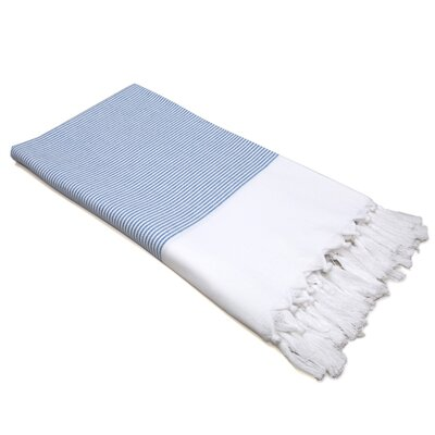 Linum Home Textiles Stripy 100% Turkish Cotton Pestemal/Fouta Bath Towel