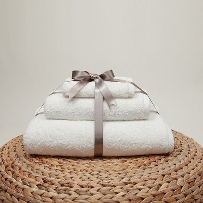 Soft Twist 100% Turkish Cotton 3 Piece Towel Set