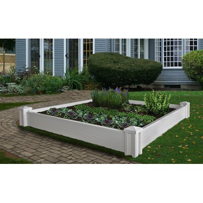 New England Arbors Versailles Raised Square Garden Bed
