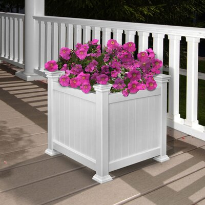 New England Arbors Cardiff Square Box Planter