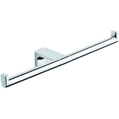 Moda Collection Movin Double Toilet Paper Holder in Chrome