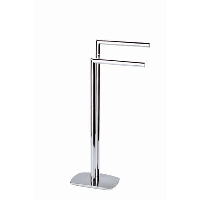 Moda Collection Eos Towel Stand in Chrome
