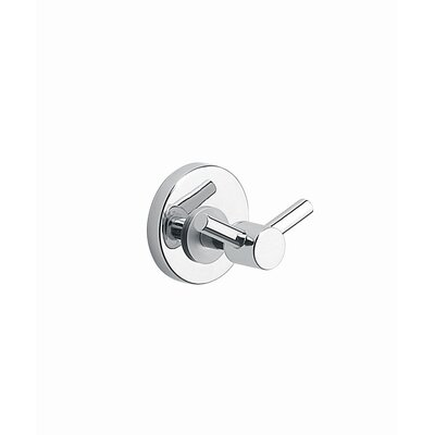 Moda Collection Silver Robe Hook in Chrome