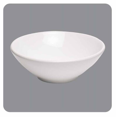 Moda Collection Providence Vessel Sink without Overflow in White
