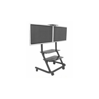 Chief Manufacturing Dual Display Video Conferencing Cart
