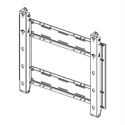"Chief Manufacturing Heavy Duty Pitch Adjustable Plasma Wall Mount (Over 60"" Screens)"
