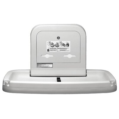 Koala Kare Products Horizontal Baby Changing Station