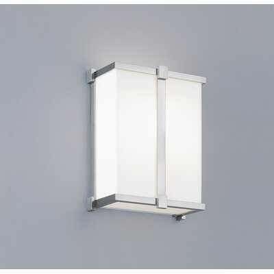 ILEX Lighting Hatbox ADA Square Wall Sconce