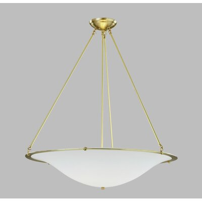 ILEX Lighting Diva Grande Pendant with Triple Rod