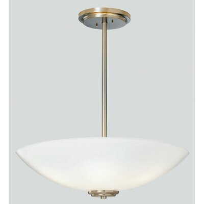 ILEX Lighting Miro Bowl Pendant with Tubing