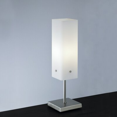 "ILEX Lighting Quad 18"" H Table Lamp with Square Shade"