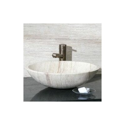 Round Vessel Bathroom Sink - V-VR18
