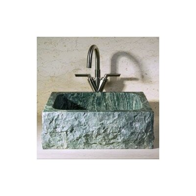 Rectangular Vessel Bathroom Sink with Broken Edge - V-VGRTST-BE- Abalone