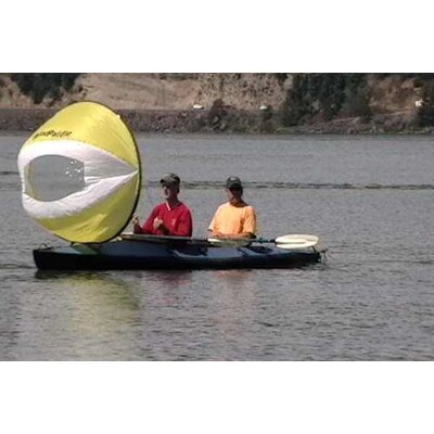 WindPaddle Sails Cruiser Tandem Kayak and Canoe Sail