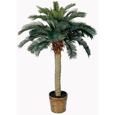 Nearly Natural Silk Sago Palm Tree