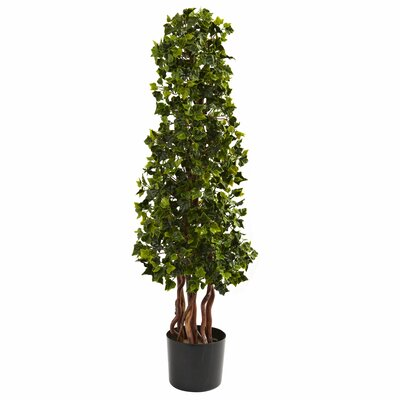 Nearly Natural English Ivy Spiral Tree in Pot