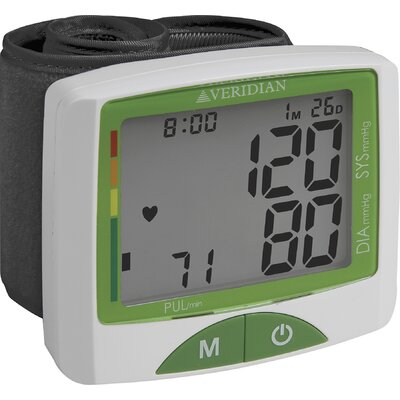 Jumbo Screen Premium Digital Blood Pressure Wrist Monitor