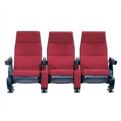 Regal Row Of Three Movie Theater Chairs Wayfair