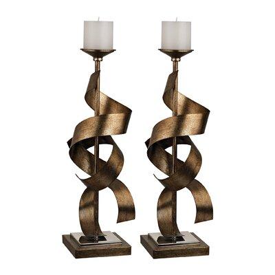 Sterling Industries Metal Sculpture Candle Holder