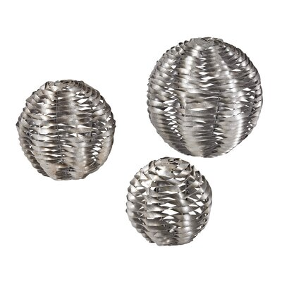 Sterling Industries 3 Piece Metal Work Object Set