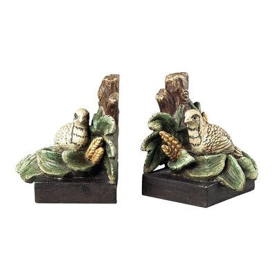 Sterling Industries Quail Book Ends