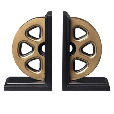 Sterling Industries Movie Reel Book Ends