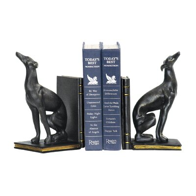 Sterling Industries Greyhound Bookends (Set of 2)