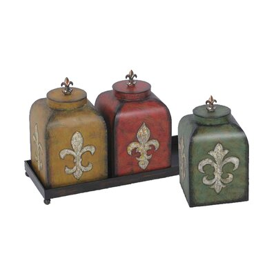 Sterling Industries Fleur De Lis Boxes