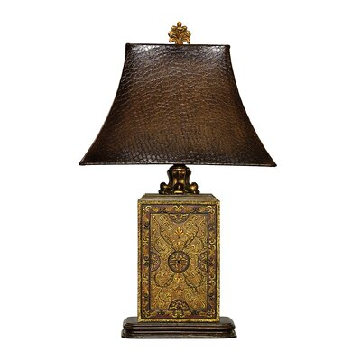 Sterling Industries Embossed Block Table Lamp