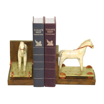 Sterling Industries Childs Pony Book Ends