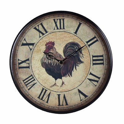 Sterling Industries Small Rooster Clock