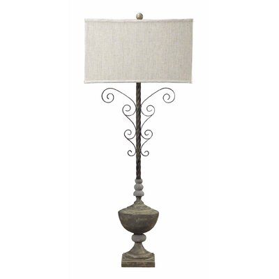 Sterling Industries Concrete Accent and Iron Table Lamp