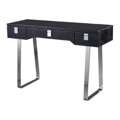 Sterling Industries MDF and Leather Writing Desk