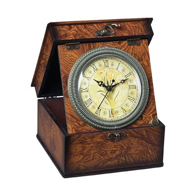 Sterling Industries Daffodil In A Box Clock