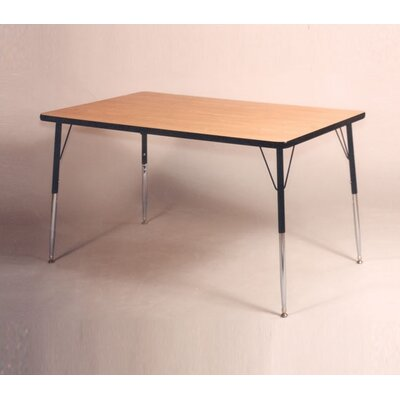 Ironwood Rectangular Tapered Leg Table