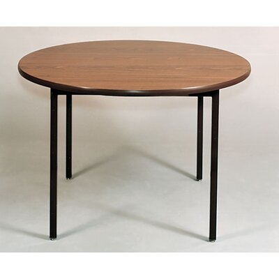 Ironwood Round Welded Frame Table