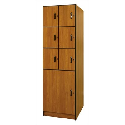 Ironwood Solid Melamine Door Music Storage: 7 Compartments