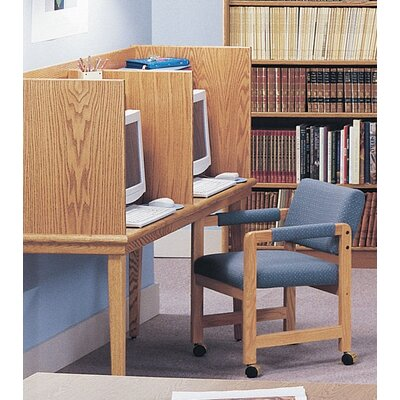 Ironwood Vision Series Side-by-Side Study Carrel